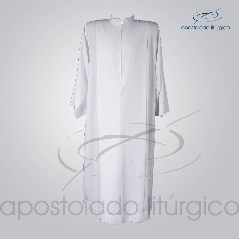 Tunica Tecido Inteligente Pregao Branca Frente COD 3259 | Apostolado Litúrgico Brasil