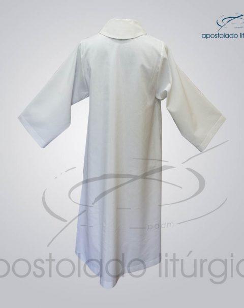 Tunica para Acolito Branca Costas – COD 1141