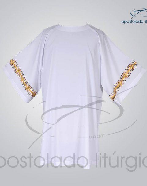 Veste com 2 Estampas Grega Manga Branca Frente – COD 3872