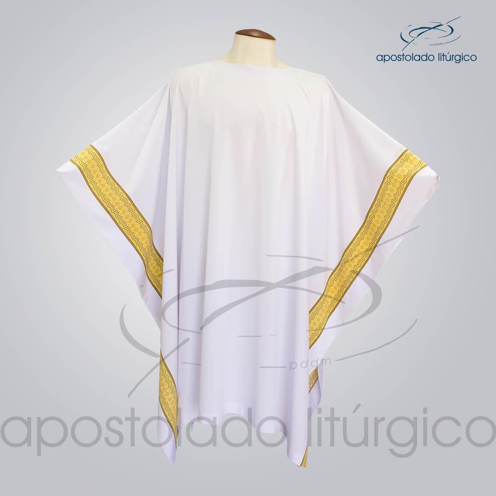 Veste com Estampa Reta