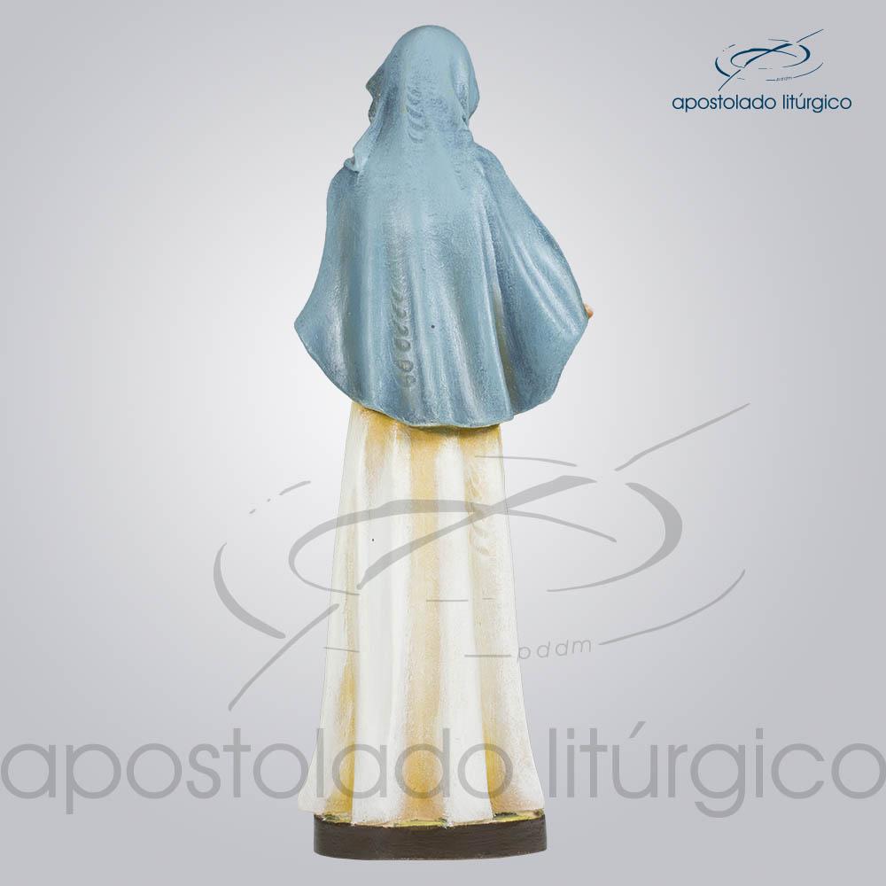 Imagem Maria com Menino 30cm Costas | Apostolado Litúrgico Brasil