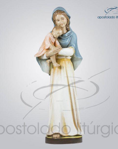 Imagem Maria com Menino 30cm Frente