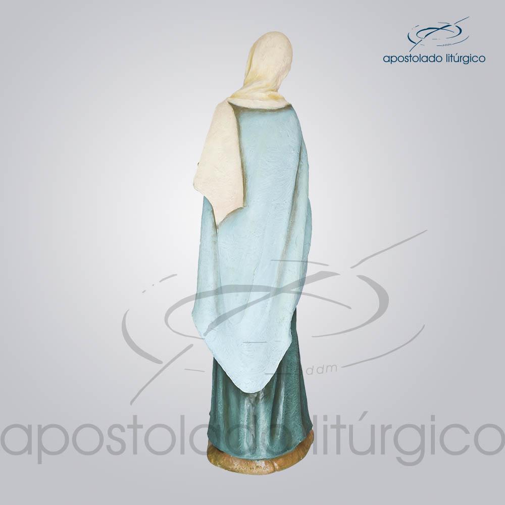 Imagem Rainha dos Apostolos 140cm Costas | Apostolado Litúrgico Brasil