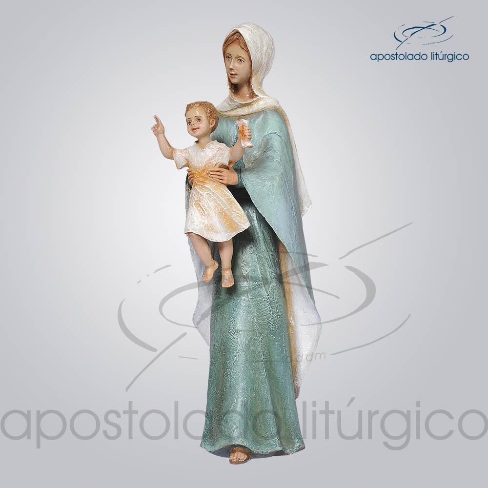 Imagem Rainha dos Apostolos 40cm Lado Esquerdo | Apostolado Litúrgico Brasil