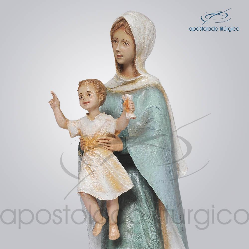 Imagem Rainha dos Apostolos 40cm Superior Esquerdo | Apostolado Litúrgico Brasil
