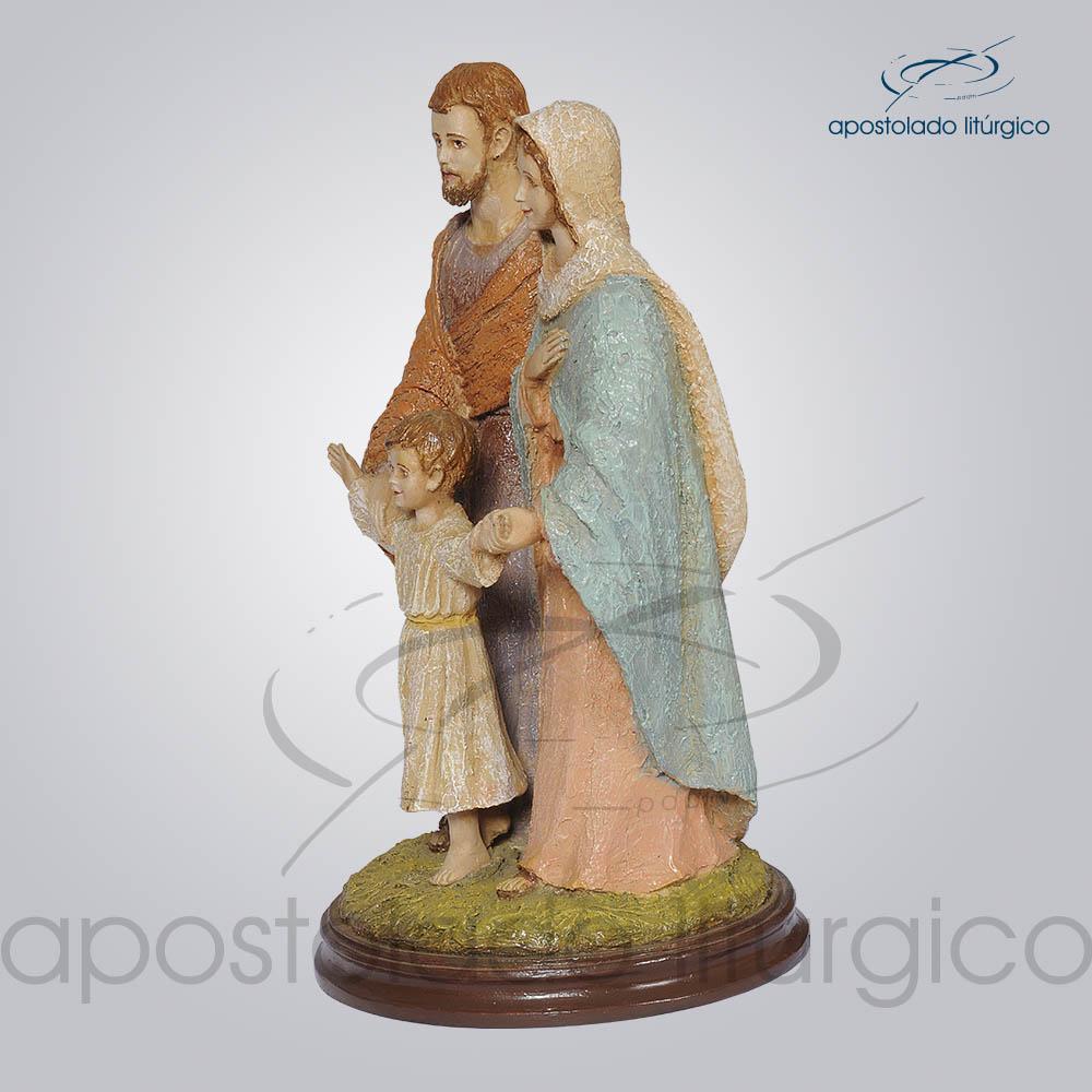 Imagem Sagrada Familia 40 cm Lado Esquerdo COD 4163 | Apostolado Litúrgico Brasil