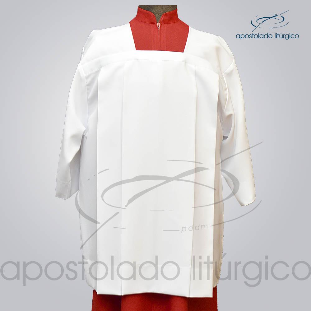 Sobrepeliz para Acolito Frente COD 3091 | Apostolado Litúrgico Brasil