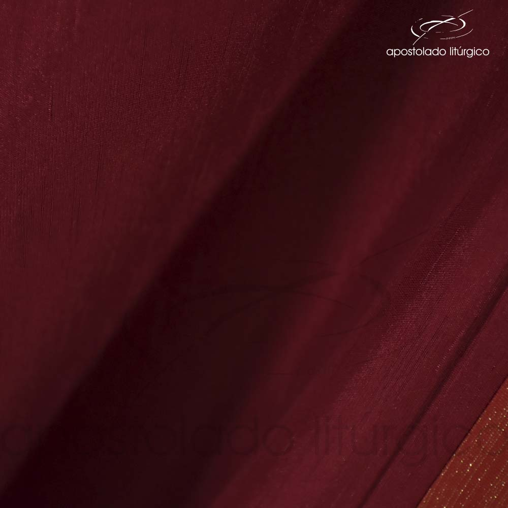 Tecido Shantung Vermelho