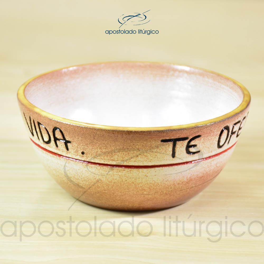 Tigela Te Oferto Senhor 14cm - COD 2247 (1)