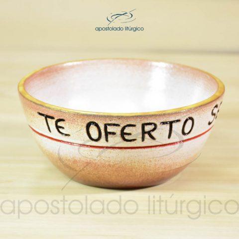 Tigela Te Oferto Senhor 14cm (Te oferto) - COD 2247