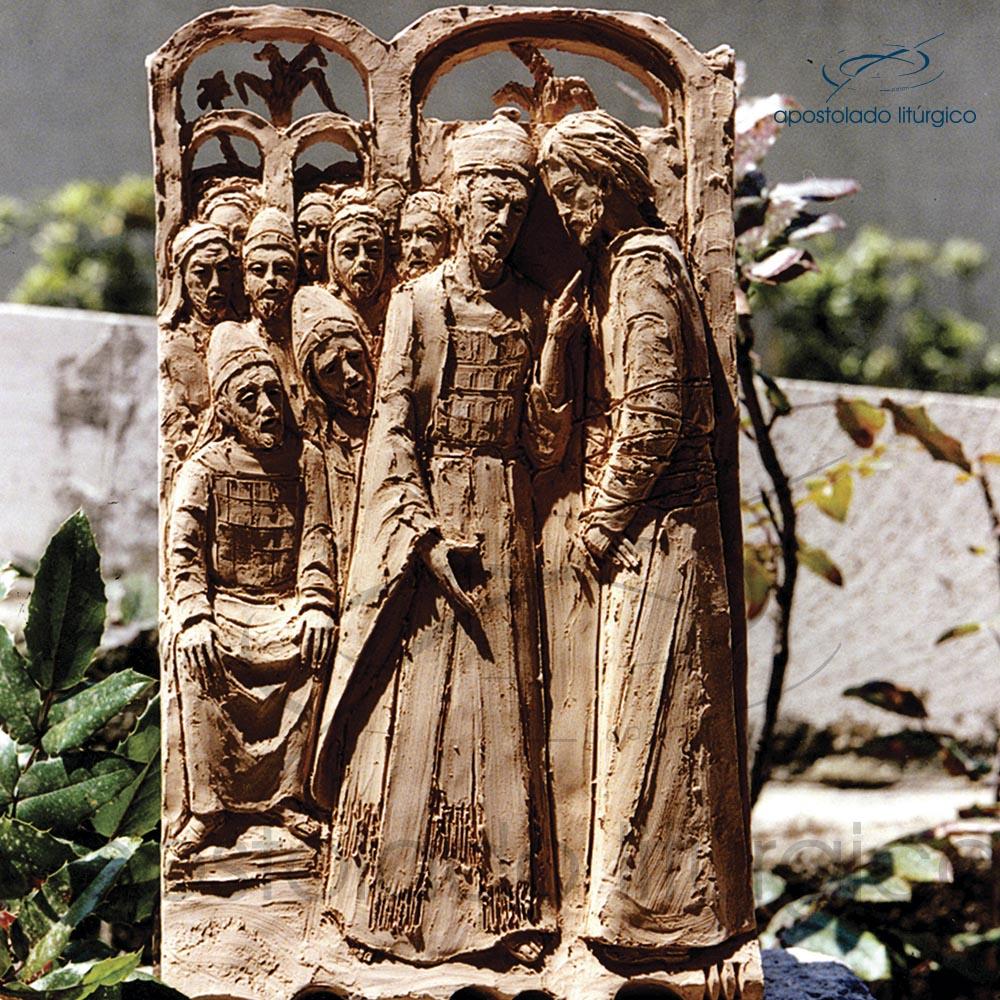 3 JESUS DIANTE DO SINEDRIO | Apostolado Litúrgico Brasil