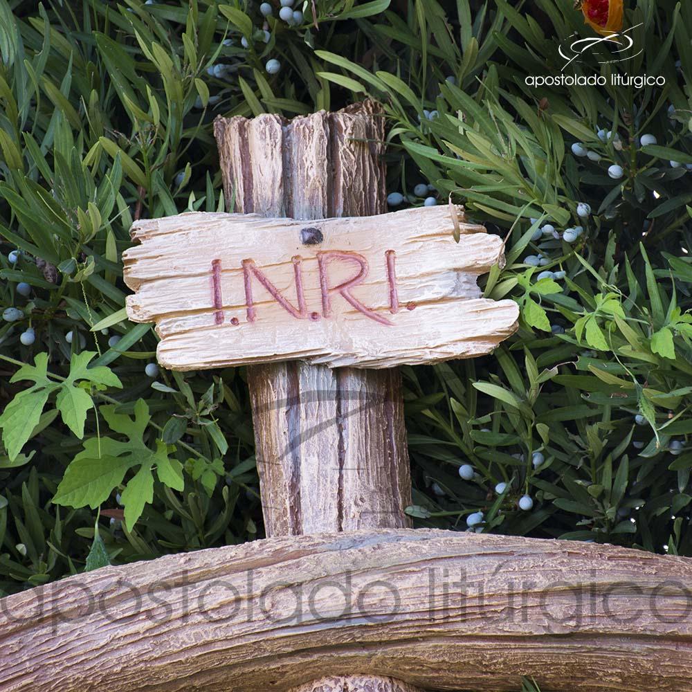 Imagem Cristo Crucificado 1 MT Cruz 2 MT Inri COD 4188 1 | Apostolado Litúrgico Brasil