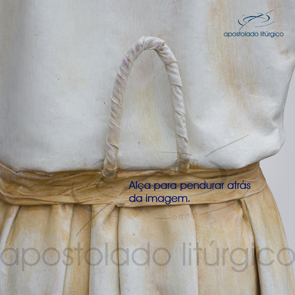 Imagem Cristo Ressucitado com tunica 180 cm alca para pendurarCOD 4206 | Apostolado Litúrgico Brasil