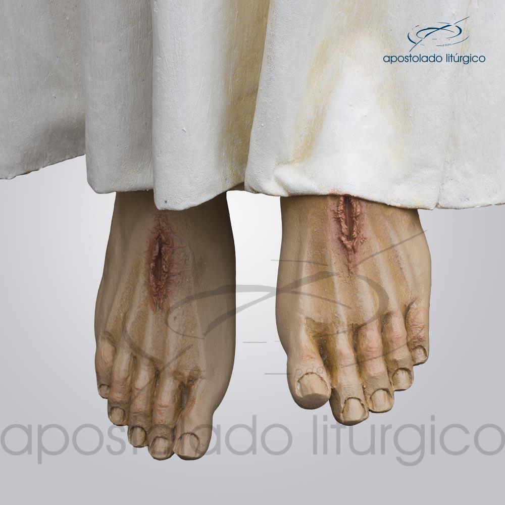 Imagem Cristo Ressucitado com tunica 180 cm pes COD 4206 | Apostolado Litúrgico Brasil
