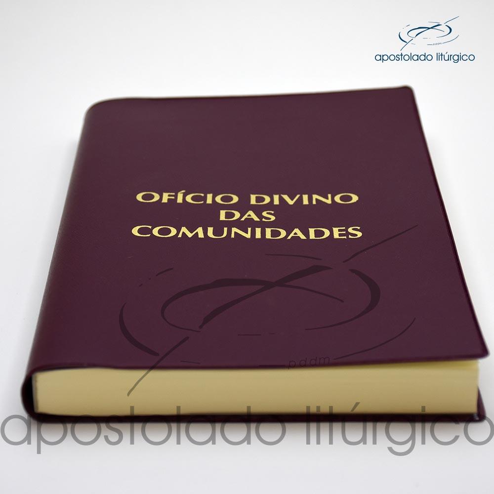 Livro Oficio Divino das Comunidades Terceira Edicao Livro Deitado 1 cod 05010 0000 | Apostolado Litúrgico Brasil