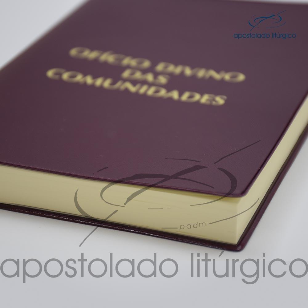 Livro Oficio Divino das Comunidades Terceira Edicao Livro Deitado 2 cod 05010 0000 | Apostolado Litúrgico Brasil