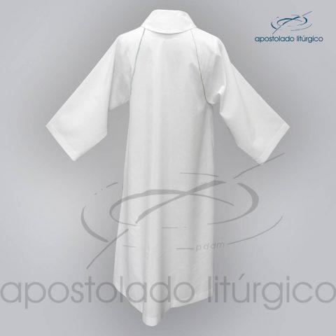 Tunica Monacal Raglan Branca Costas – COD