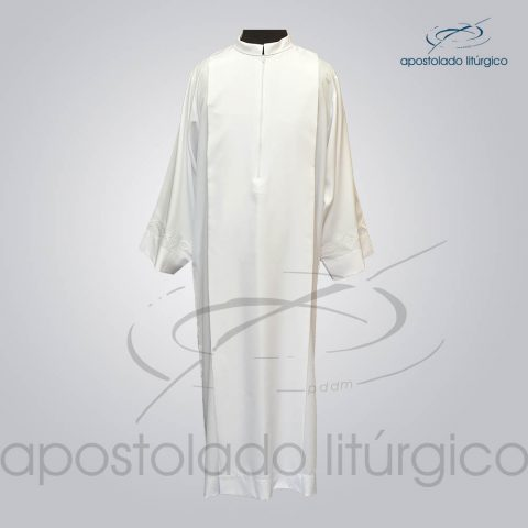 Tunica Tecido Inteligente Pregao [Bordado 3 Branco] Manga Frente – COD 3260