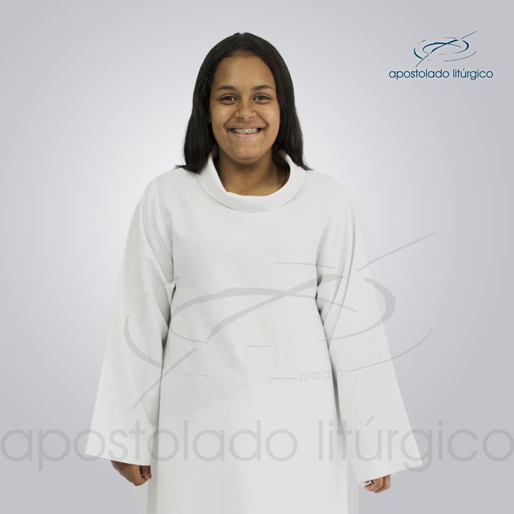 Tunica de acólitos codigo 1141 Fernandinha 1   Apostolado Litúrgico Brasil