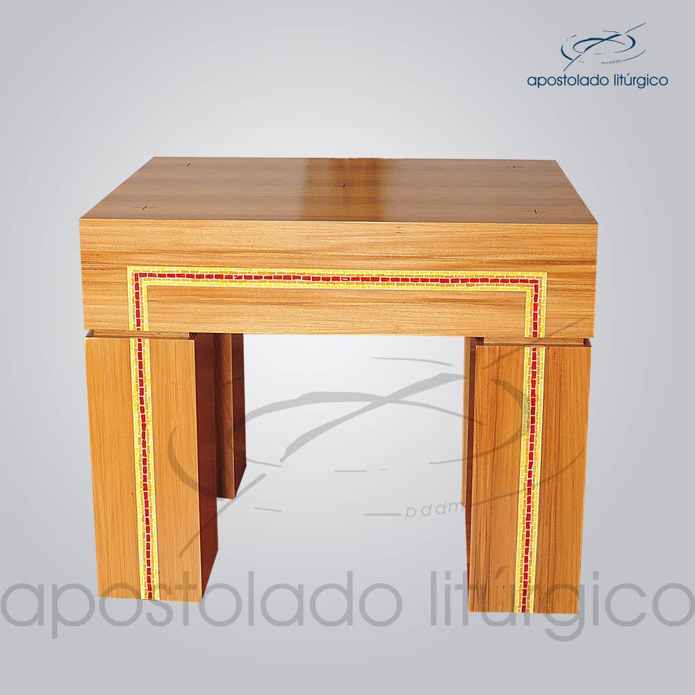 4153 Altar Mosaico 110x90x80 cm | Apostolado Litúrgico Brasil