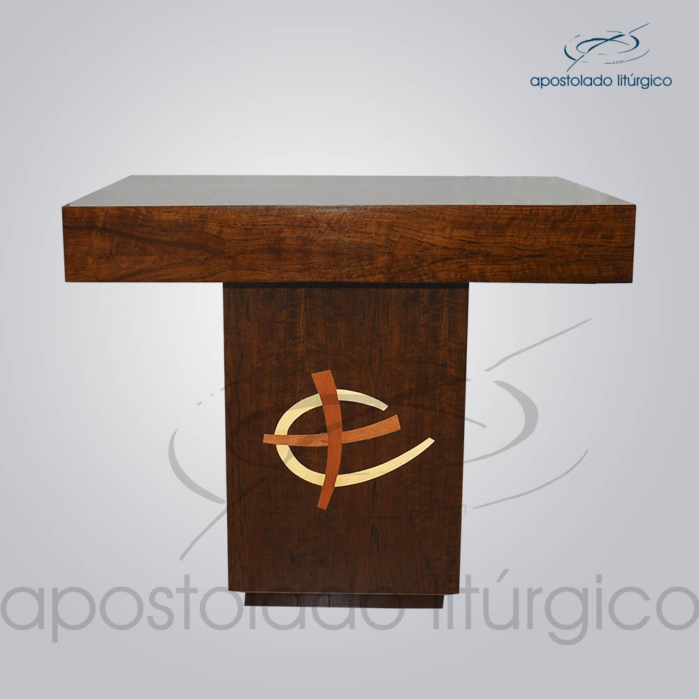 4202 Altar Aplicacao Machetaria 110X70X90 cm | Apostolado Litúrgico Brasil