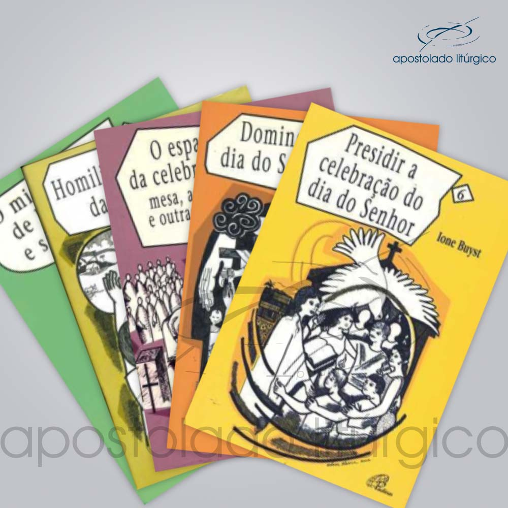 Colecao Rede Celebra 10 volumes | Apostolado Litúrgico Brasil