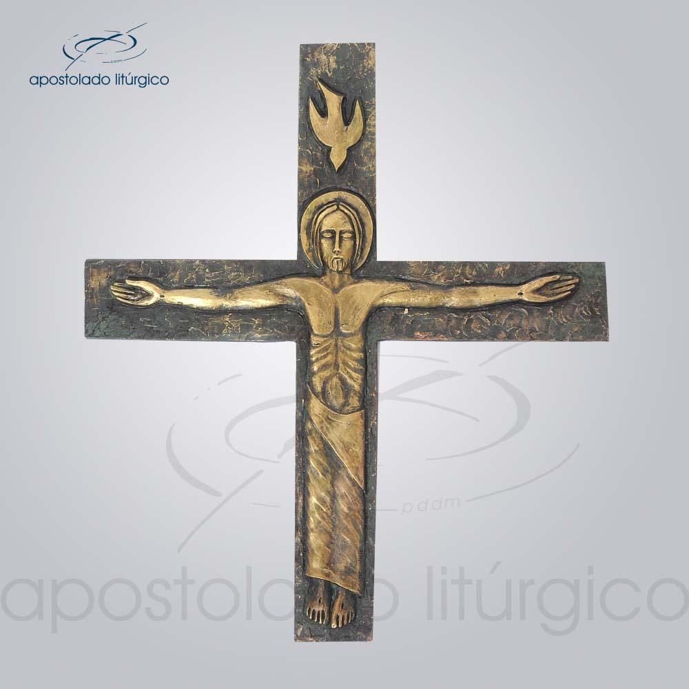 Cruz de Parede Lotus | Apostolado Litúrgico Brasil
