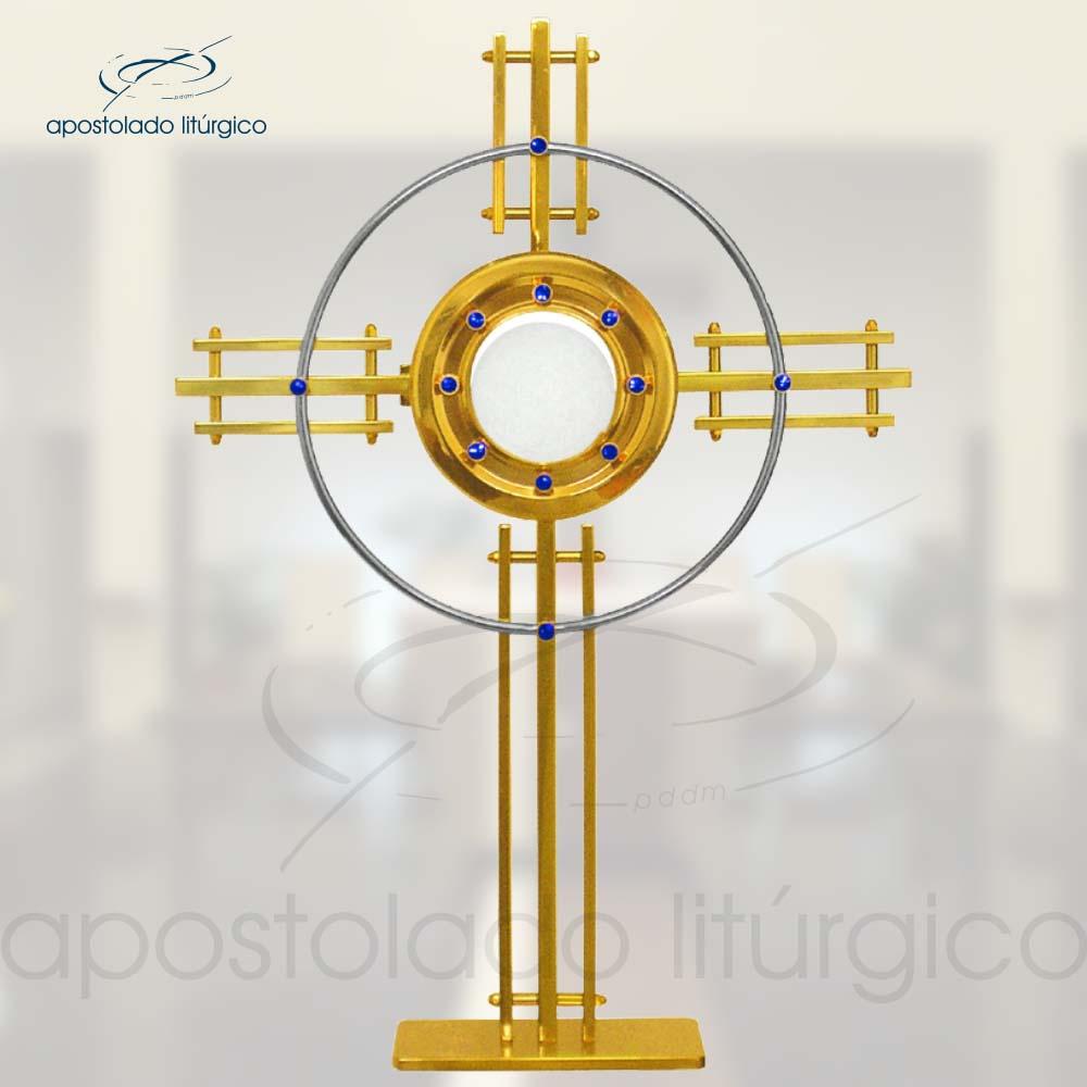 Ostensorio Alianca Ref 50 | Apostolado Litúrgico Brasil