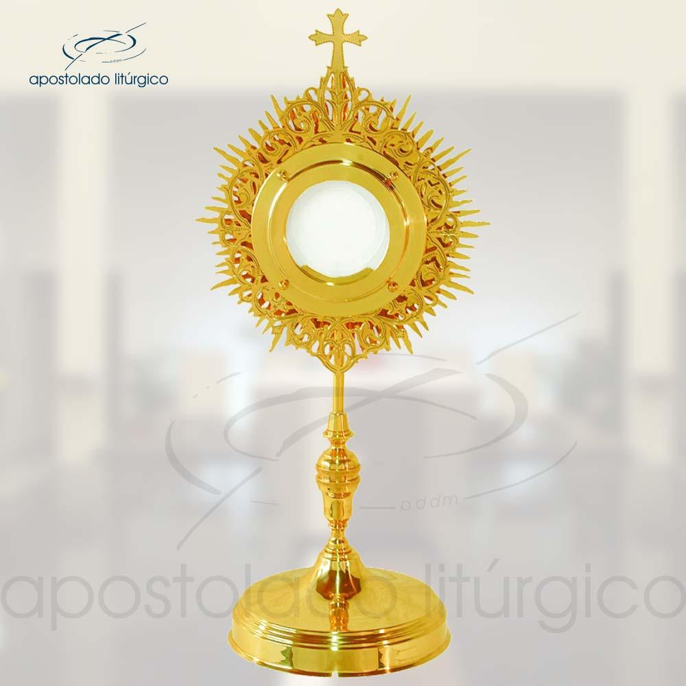 Ostensorio Classico Ref 631 | Apostolado Litúrgico Brasil