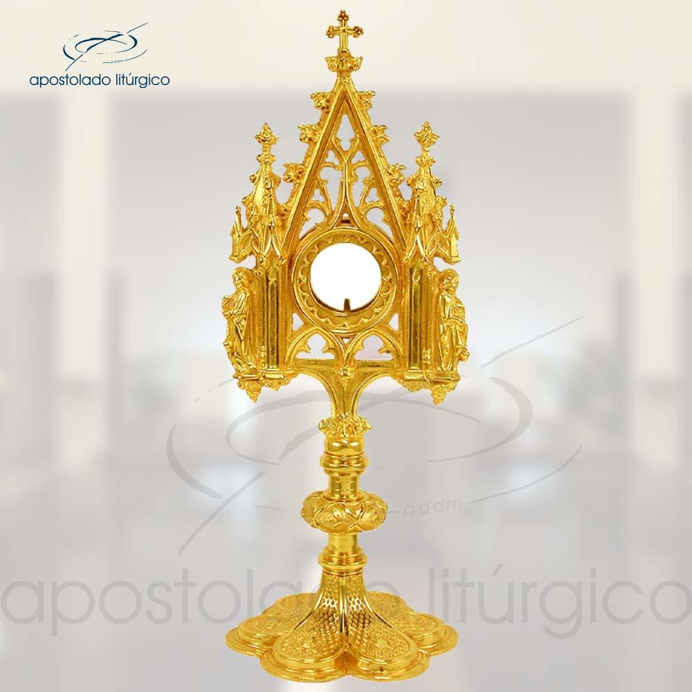 Ostensorio Gotico Ref 633 | Apostolado Litúrgico Brasil