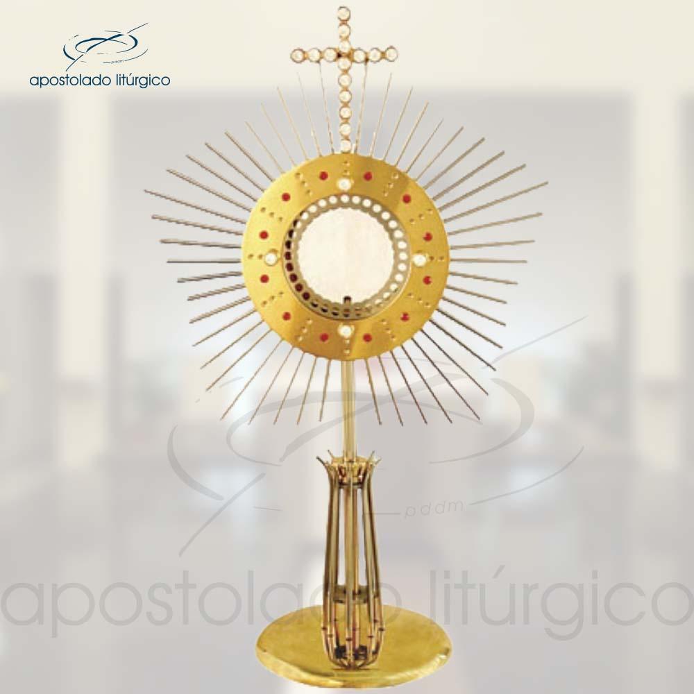 Ostensorio Millenium Ref 635 | Apostolado Litúrgico Brasil