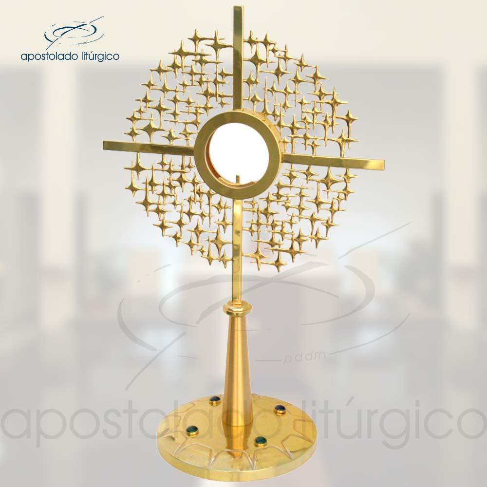 Ostensorio RV Ref 637 | Apostolado Litúrgico Brasil