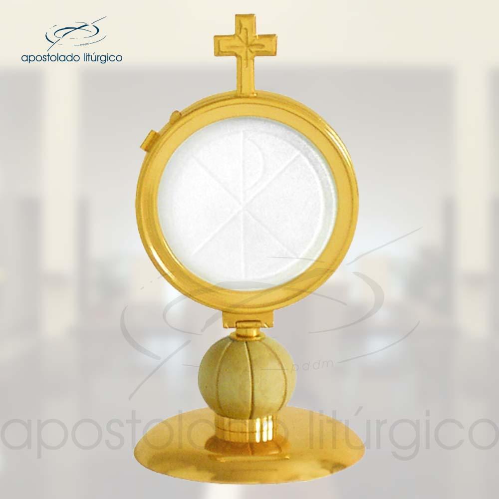 Ostensorio Ref 17 | Apostolado Litúrgico Brasil
