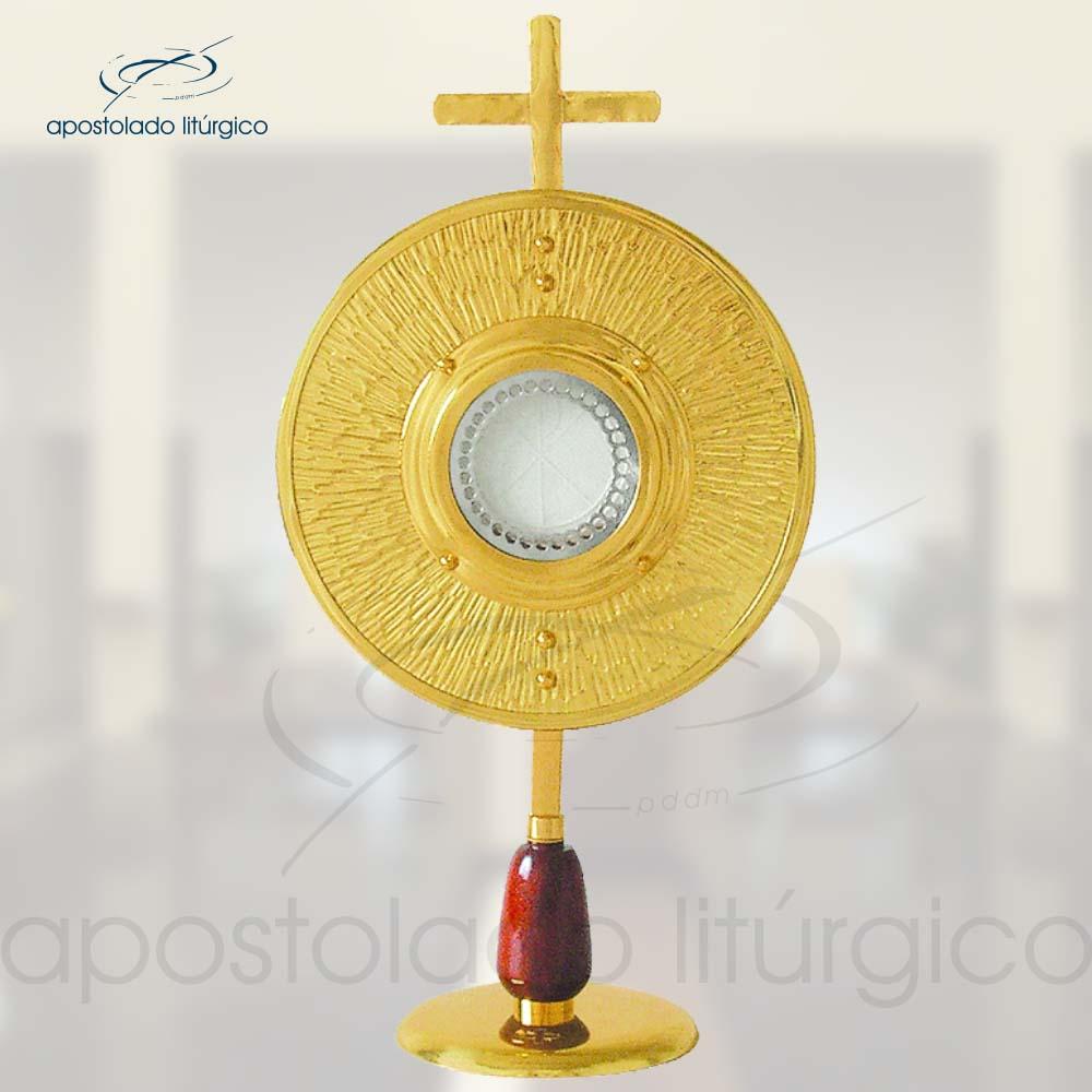 Ostensorio Ref 40 | Apostolado Litúrgico Brasil