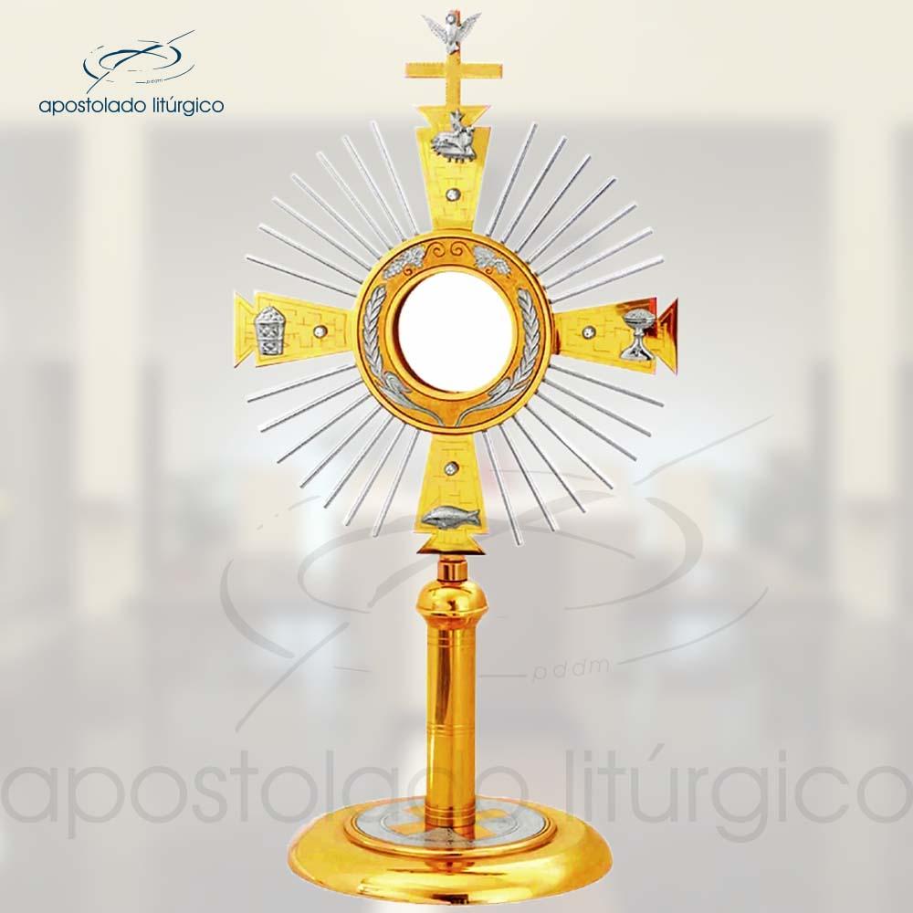 Ostensorio Ref 400 | Apostolado Litúrgico Brasil