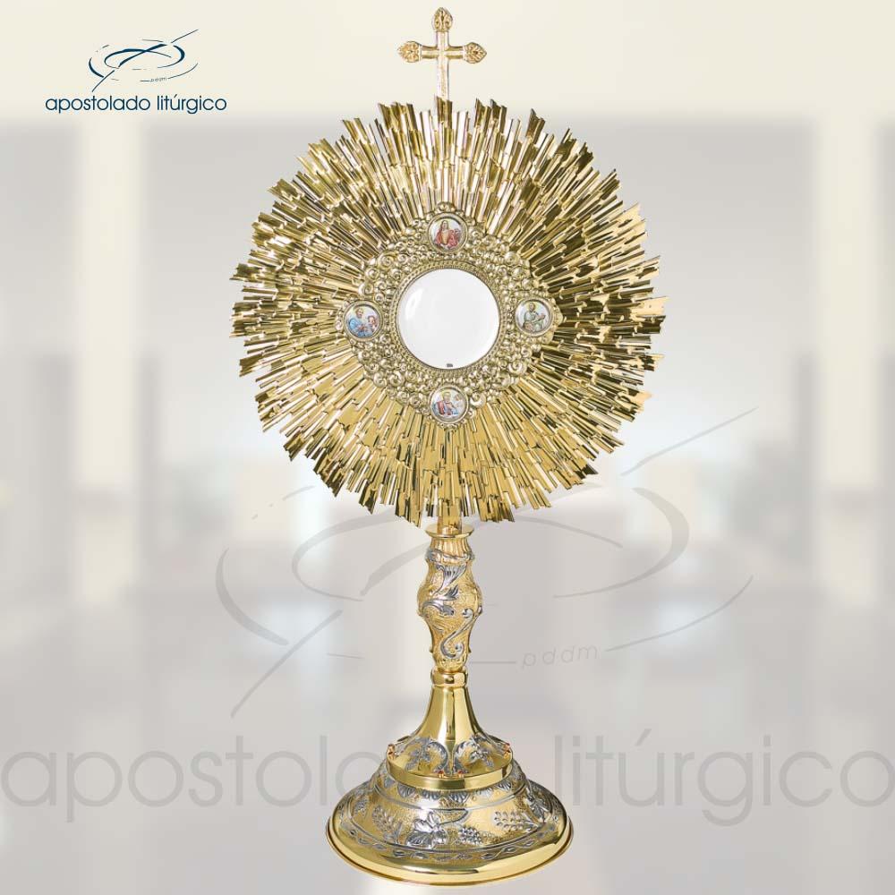 Ostensorio Ref 649 | Apostolado Litúrgico Brasil