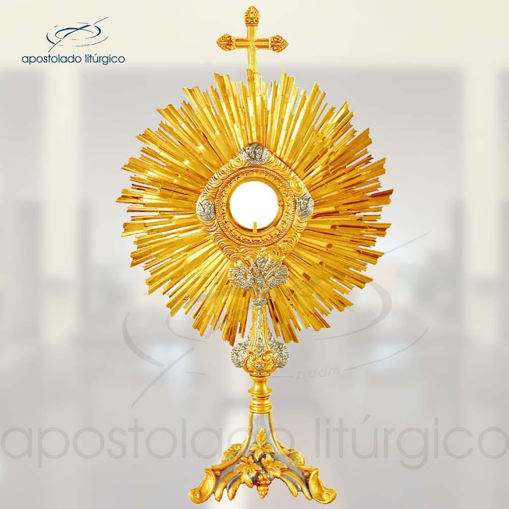 Ostensorio Replica Ref 636 | Apostolado Litúrgico Brasil