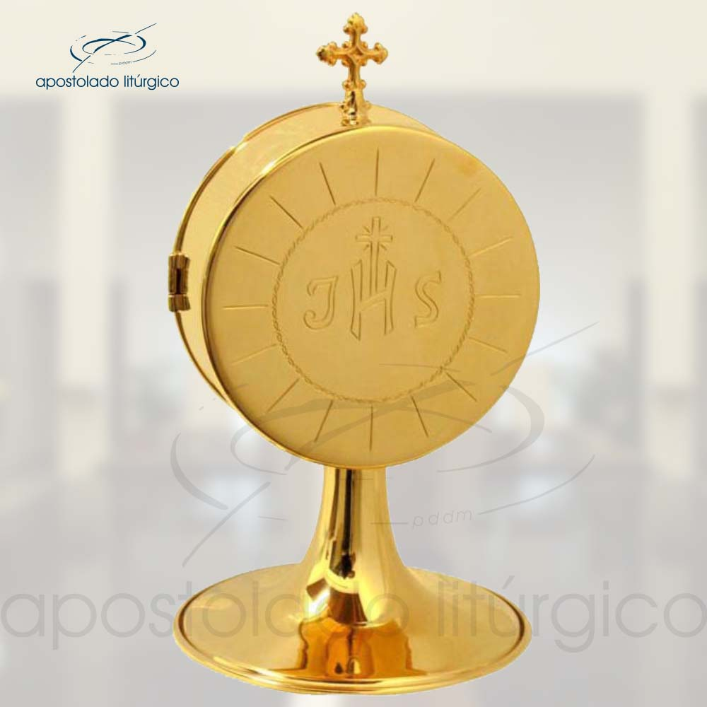 Pixide Dourada REF 971 | Apostolado Litúrgico Brasil
