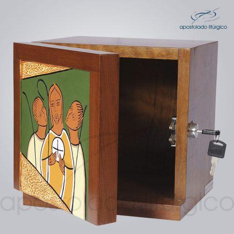 Sacrario Emaus Caminho Pequeno 22x22x20cm Frente Aberto – COD 4027