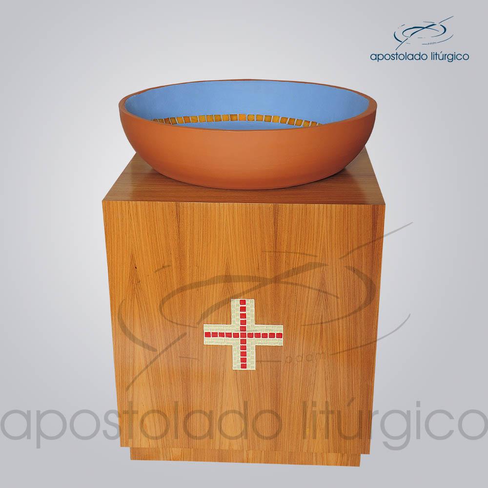 Suporte Madeira 70X60X60 cm Frente | Apostolado Litúrgico Brasil