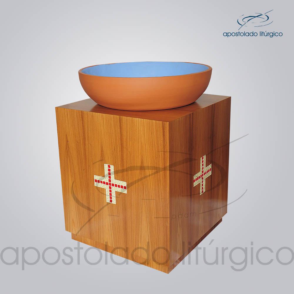 Suporte Madeira 70X60X60 cm Lateral | Apostolado Litúrgico Brasil