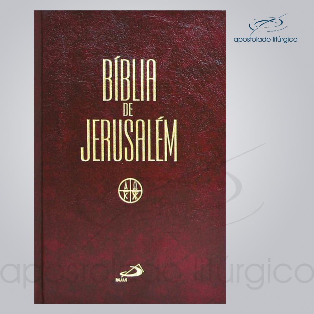 Bíblia de Jerusalém Grande cod 15053 | Apostolado Litúrgico Brasil