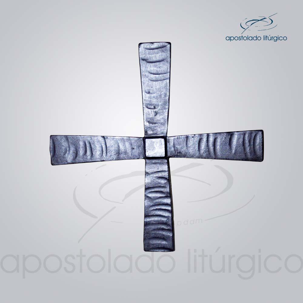 Cruz para dedicação de igreja cod 13014 | Apostolado Litúrgico Brasil