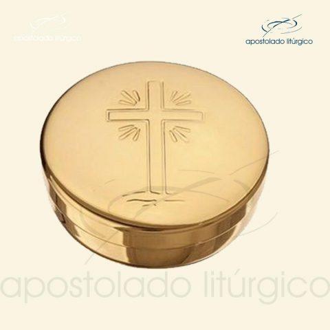 Teca dourada cod 12-apostoladoliturgico