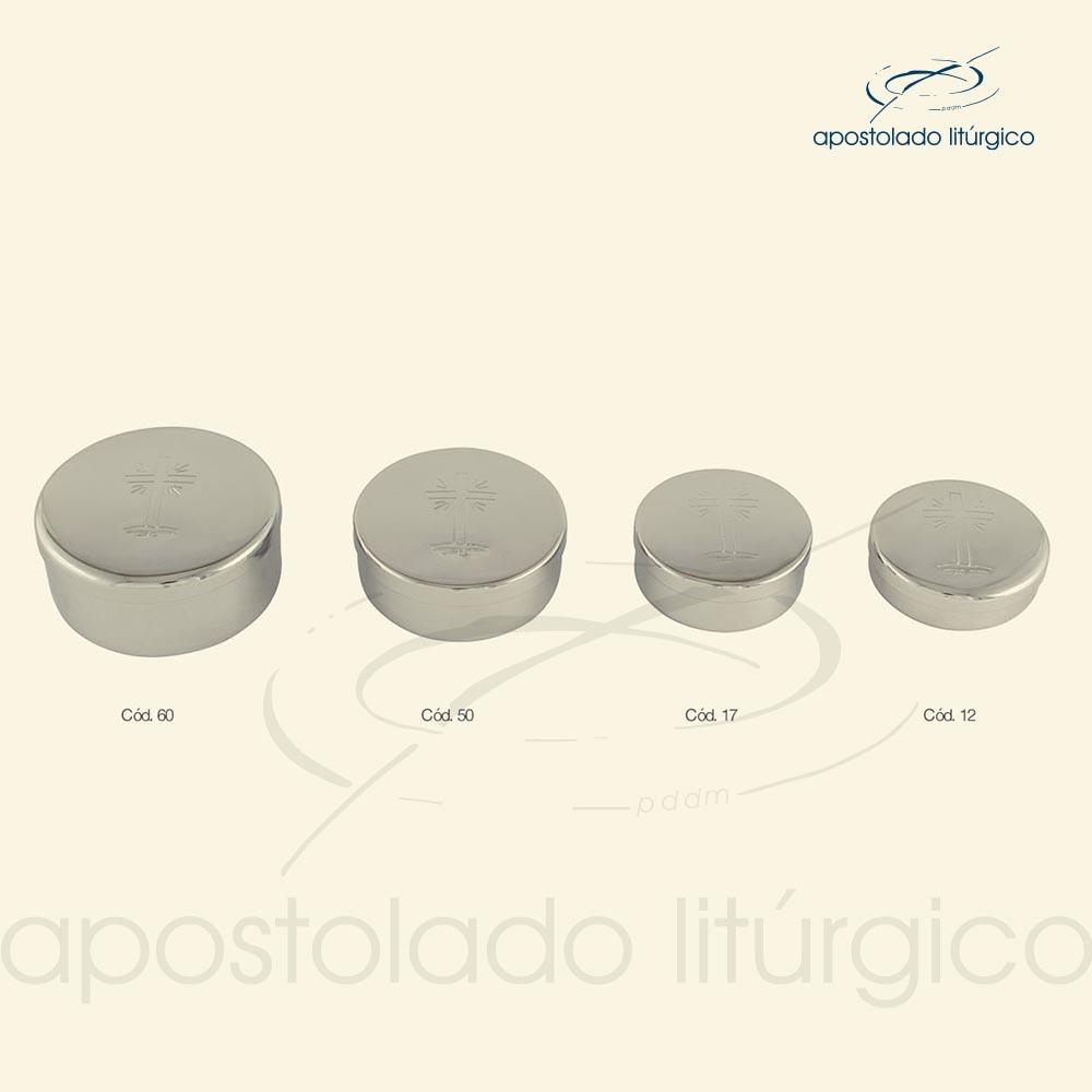 Tecas cod 60 50 17 12 cromadas apostoladoliturgico | Apostolado Litúrgico Brasil