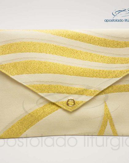 Bolsa de Viatico Brocada Peixe Pão 2 10X15 cm