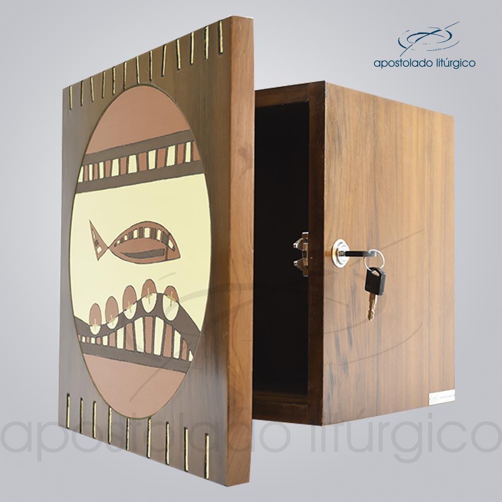 Sacrario da unidade 30x30x24 cm Porta 37x37 cm cod 4307