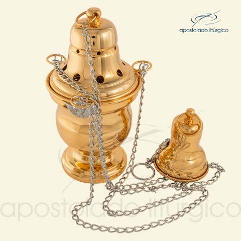 Turíbulo Anjos Ouro - Cod LI-800-O