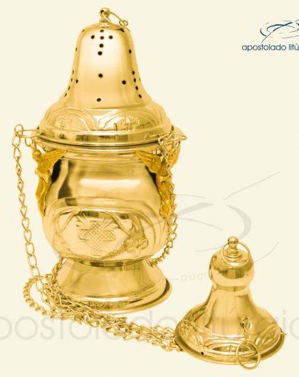 Turibulo Gigante Dourado Ref 3956