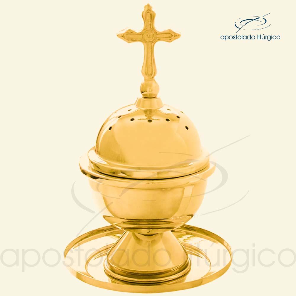 Turibulo de Mesa Dourado Ref 3957